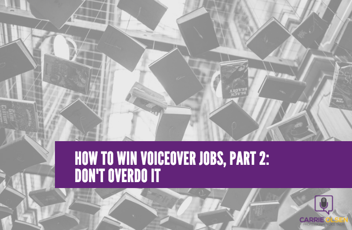 how to win voiceover jobs