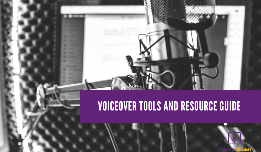 voiceover tools and resources