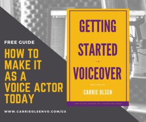 VOICEOVER STARTER GUIDE