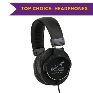 Harlan Hogan Voiceover headphones