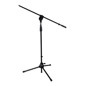 LyxPro Microphone Stand Boom Arm Tilting Rotating Floor Podium Stage or Studio Strong Durable And Foldable