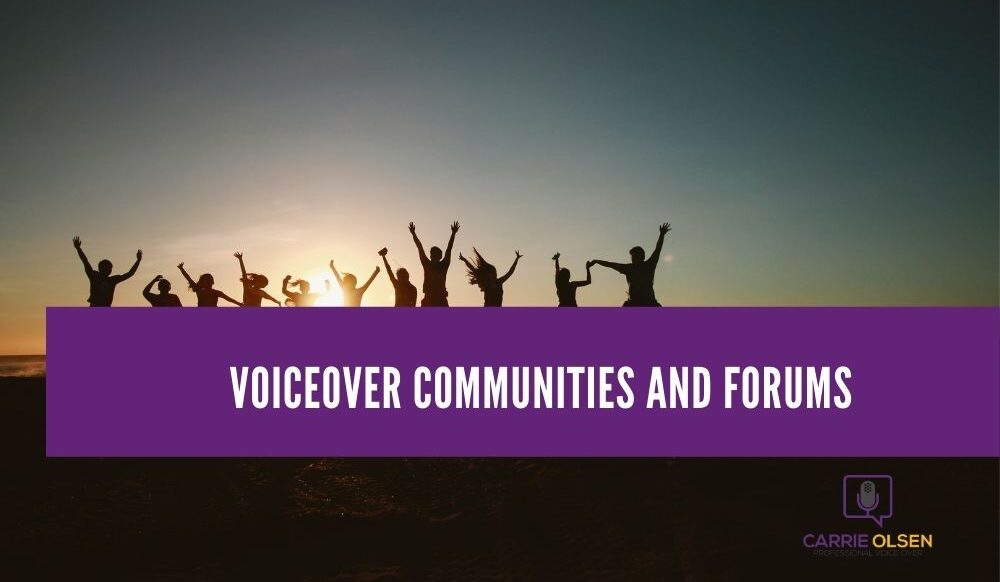 Voiceover Communities and Forums