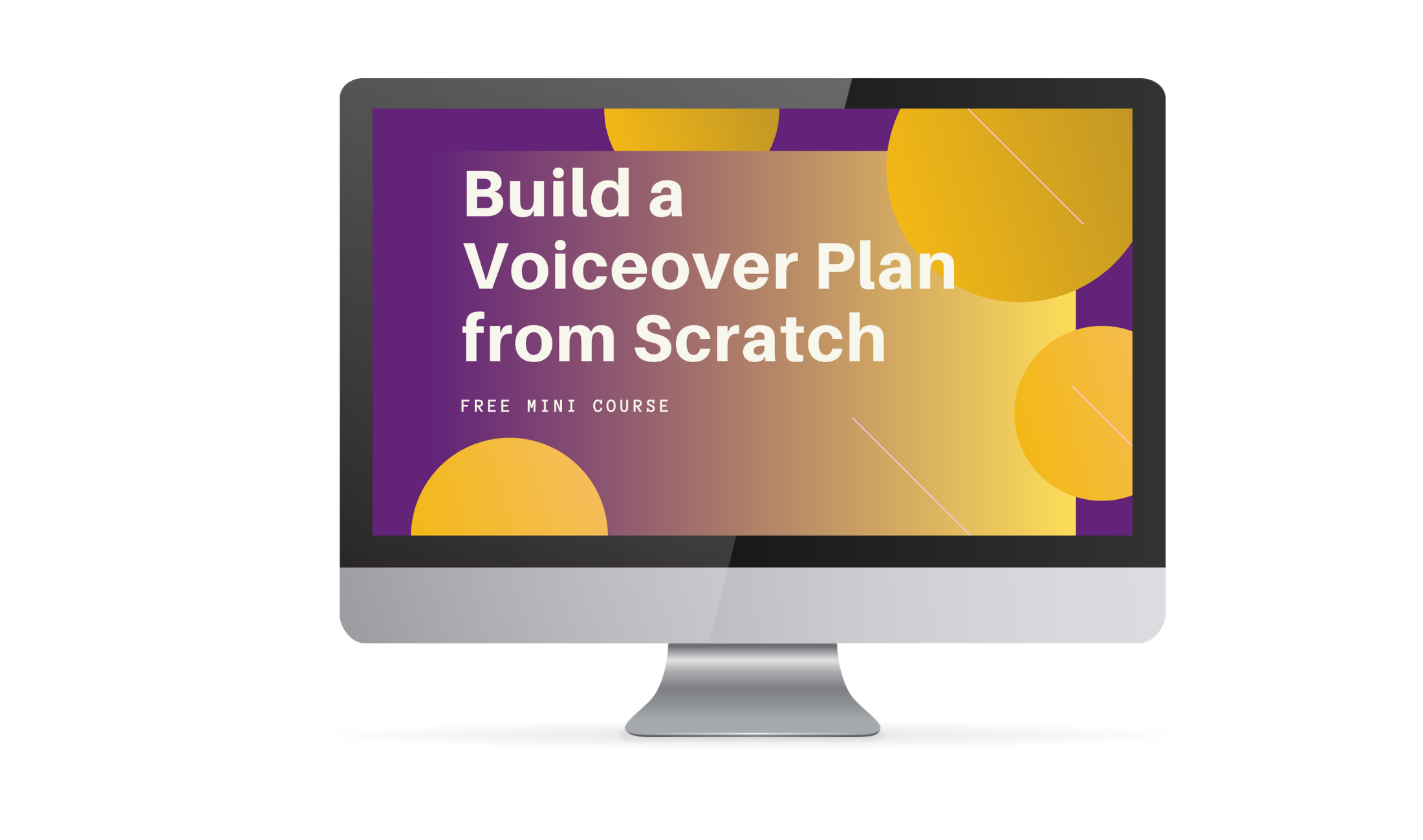 Build a Voiceover Plan from Scratch