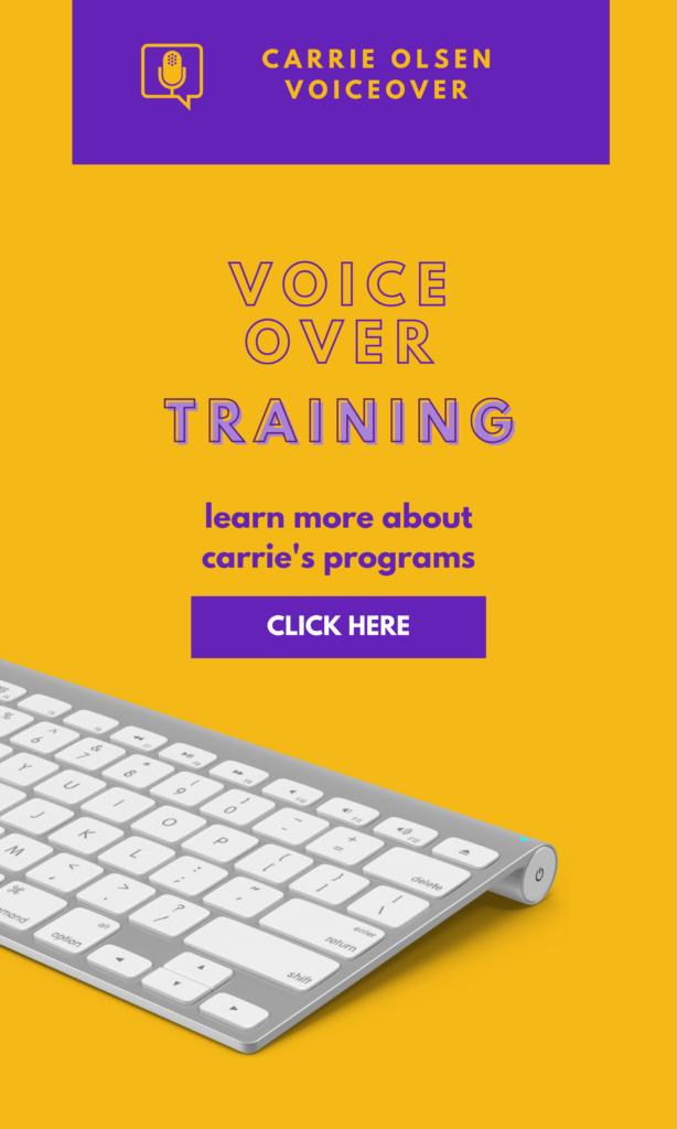 Voice over training classes