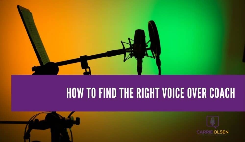 Find Right Voiceover Coach
